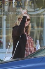 Pregnant KIRSTEN DUNST Out in Los Angeles 03/26/2018