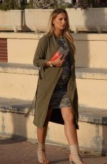 Pregnant MICHAELLA MCCOLLUM Out for Lunch in Spain 03/05/2018