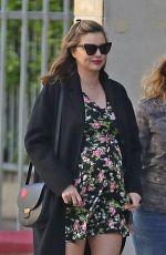 Pregnant MIRANDA KERR Out in Hollywood 03/25/2018