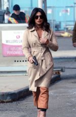 PRIYANKA CHOPRA on the Set of Quantico in New York 03/17/2018
