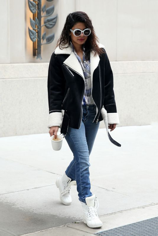 PRIYANKA CHOPRA Out and About in New York 03/10/2018