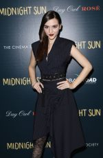 QUINN SHEPHARD at Cinema Society & Day Owl Rose Host a Screening of Midnight Sun in New York 03/22/2018