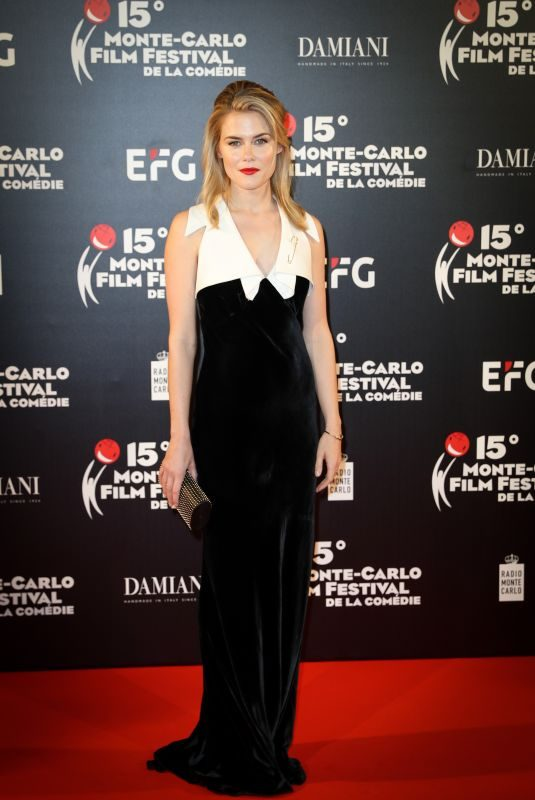 RACHAEL TAYLOR at 15th Monte Carlo Film Festival Closing Ceremony 03/03/2018