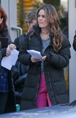 RACHEL BILSON on the Set of Take Two in Vancouver 03/17/2018