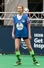 RACHEL RILEY at 12hr Soccer Challenge in Manchester 03/23/2018
