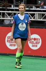 RACHEL RILEY at 12hr Soccer Challenge in Manchester 03/23/2018