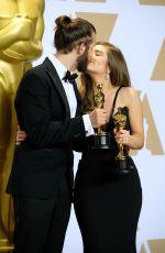 RACHEL SHENTON at 90th Annual Academy Awards in Hollywood 03/04/2018