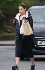 RACHEL STEVENS Out and About in London 03/15/2018