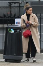 RACHEL STEVENS Out and About in Primrose Hill 03/25/2018
