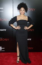 RACQUEL BIANCA at Acrimony Premiere in New York 03/27/2018