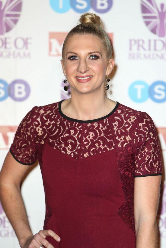 REBECCA ADLINGTON at Pride of Birmingham Awards 03/08/2018