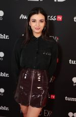 REBECCA BLACK at Ready Player One Premiere in London 03/19/2018