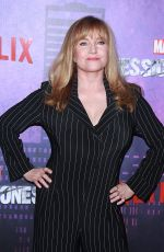 REBECCA DE MORNAY at Jessica Jones Season 2 Premiere in New York 03/07/2018