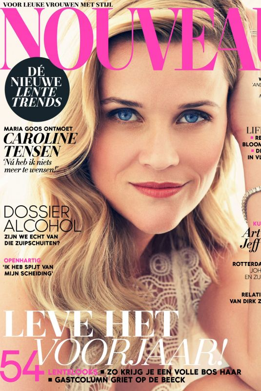REESE WITHERSPOON in Nouveau Magazine, March 2018