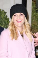 REESE WITHERSPOON Leaves Her Hotel in New York 03/08/2018