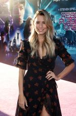 RENEE BARGH at Ready Player One Premiere in Los Angeles 03/26/2018