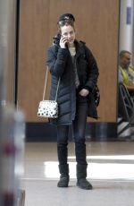 RILEY KEOUGH at Airport in Montreal 03/20/2018