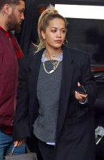 RITA ORA and Andrew Watt Out at Chinatown in New York 03/29/2018