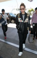 RITA ORA at LAX Airport in Los Angeles 03/28/2018