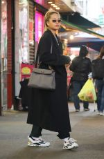 RITA ORA Out Shopping in New York 03/29/2018