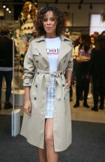 ROCHELLE HUMES at New Look Store Opening at Oxford Street in London 03/22/2018