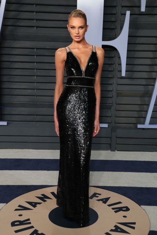 ROMEE STRIJD at 2018 Vanity Fair Oscar Party in Beverly Hills 03/04/2018