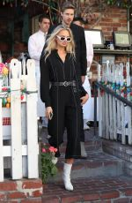 ROMEE STRIJD at The Ivy in West Hollywood 03/01/2018