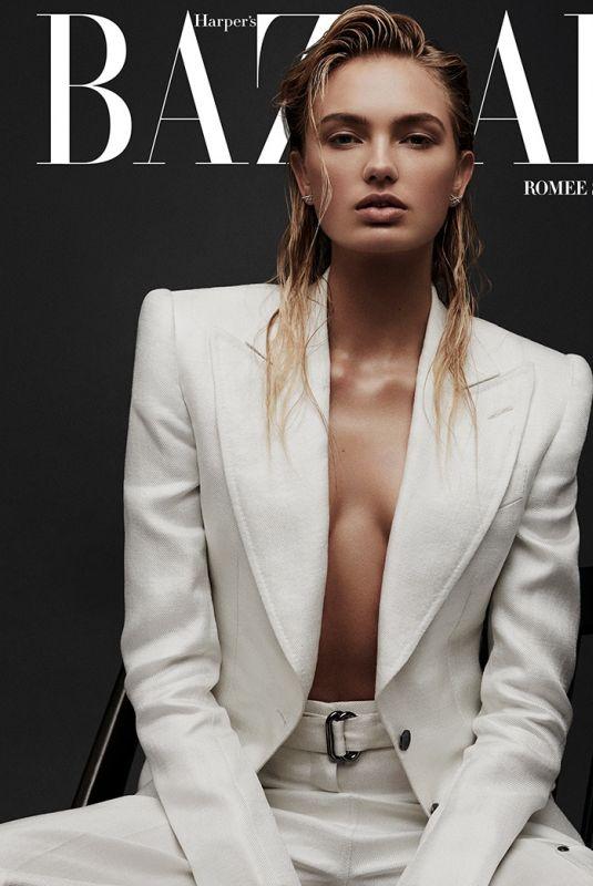 ROMEE STRIJD for Harper's Bazaar Magazine, Greece March 2018