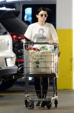 ROONEY MARA Shopping at a Health Food Store in Los Angeles 03/29/2018