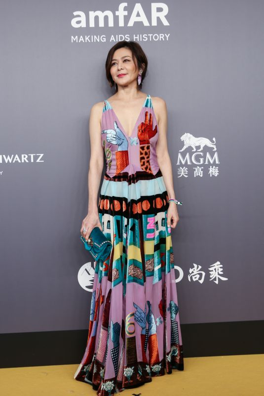 ROSAMUND KWAN at Amfar Gala 2018 in Hong Kong 03/26/2018