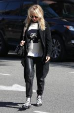 ROSANNA ARQUETTE Out and About in Beverly Hills 03/20/2018
