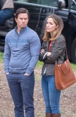 ROSE BYRNE on the Set of Instant Family in Atlanta 03/27/2018