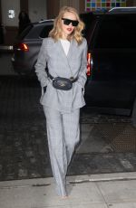 ROSIE HUNTINGTON-WHITELEY Out in New York 03/28/2018