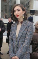 ROWAN BLANCHARD at Chloe Show at Paris Fashion Week 03/01/2018