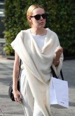 RUMER WILLIS Out Shopping on Melrose Place in West Hollywood 02/28/2018