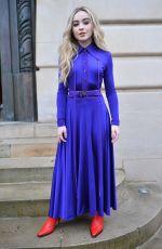 SABRINA CARPENTER at Nina Ricci Fashion Show in Paris 03/02/2018