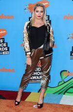 SAFFRON BARKER at 2018 Kids' Choice Awards in Inglewood 03/24/2018