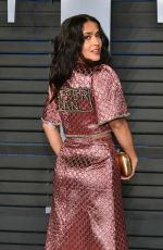 SALMA HAYEK at 2018 Vanity Fair Oscar Party in Beverly Hills 03/04/2018