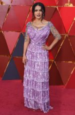 SALMA HAYEK at 90th Annual Academy Awards in Hollywood 03/04/2018