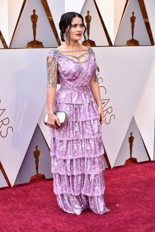 SALMA HAYEK at Oscar 2018 in Los Angeles 03/04/2018