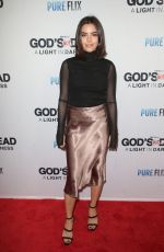 SAMANTHA BOSCARINO at God's Not Dead: A Light in Darkness Premiere in Los Angeles 03/20/2018