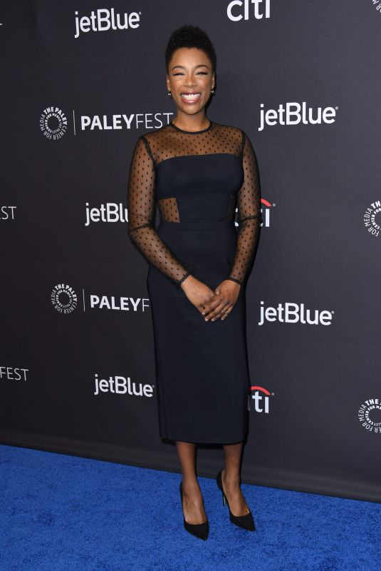 SAMIRA WILEY at The Handmaid's Tale Panel at Paleyfest in Los Angeles 03/18/2018