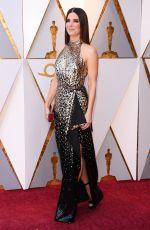 SANDRA BULLOCK at Oscar 2018 in Hollywood 03/04/2018
