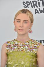 SAOIRSE RONAN at 2018 Film Independent Spirit Awards in Los Angeles 03/03/2018