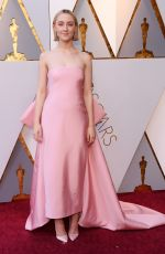 SAOIRSE RONAN at 90th Annual Academy Awards in Hollywood 03/04/2018