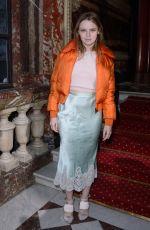 SARA FORESTIER at John Galliano Fashion Show in Paris 03/04/2018