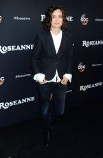 SARA GILBERT at Roseanne Premiere in Los Angeles 03/23/2018