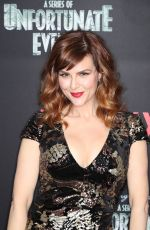 SARA RUE at A Series of Unfortunate Events Premiere in New York 03/29/2018