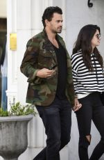 SARA SAMPAIO and Oliver Ripley Out Shopping in Beverly Hills 03/05/2018