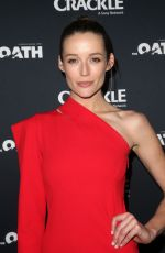 SARAH DUMONT at The Oath Premiere in Los Angeles 03/07/2018